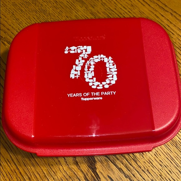 Tupperware Other - Tupperware 70 year anniversary container